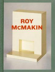 Cover of: Roy McMakin