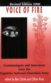 Cover of: Voice Of Fire: Communiques And Interviews From The Zapatista National Liberation Army