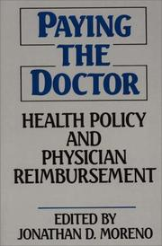 Cover of: Paying the Doctor