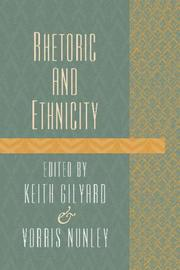 Cover of: Rhetoric and Ethnicity (CrossCurrents Series)