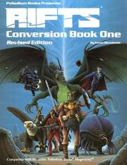 Cover of: Rifts Conversion Book 1