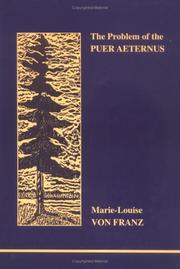 Cover of: The Problem of the Puer Aeternus