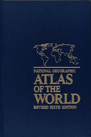 Cover of: National Geographic Atlas of the World