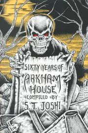 Cover of: Sixty Years of Arkham House