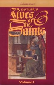 Cover of: Butler's Lives of the Saints