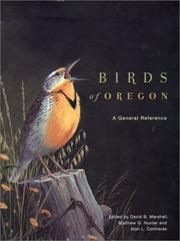 Cover of: Birds of Oregon