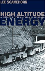Cover of: High Altitude Energy