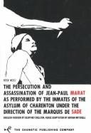 Cover of: Marat/Sade