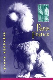 Cover of: Paris France: personal recollections
