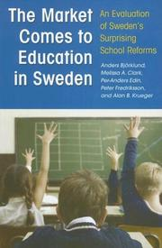 Cover of: The Market Comes to Education in Sweden