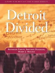 Cover of: Detroit Divided