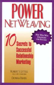 Cover of: Power Netweaving