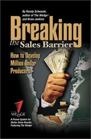 Cover of: Breaking the Sales Barrier