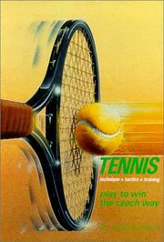 Cover of: Tennis: Play to Win the Czech Way