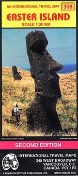 Cover of: Easter Island Map