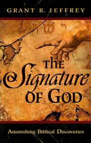 Cover of: The Signature of God