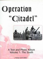 "Cover of: Operation ""Citadel"", A Text and Photo Album, Volume 1"