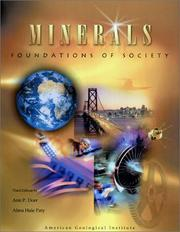 Cover of: Minerals