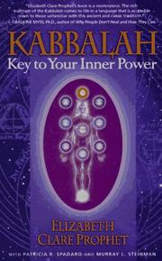 Cover of: Kabbalah: Key to Your Inner Power (Mystical Paths of the World's Religions)