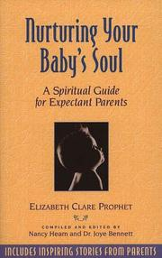 Cover of: Nurturing Your Baby's Soul