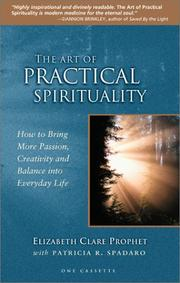 Cover of: Art of Practical Spirituality: How to Bring More Passion, Creativity, and Balance into Everyday Life