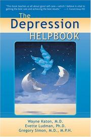 Cover of: The Depression Helpbook
