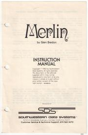 Cover of: MERLIN The Macro Assembler for The Apple II Family (Instruction Manual)