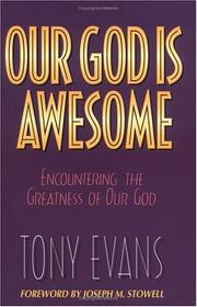 Cover of: Our God is awesome