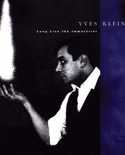 Cover of: Yves Klein
