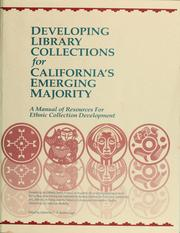 Cover of: Developing Library Collections for California's Emerging Majority