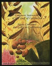 Cover of: Common Seaweeds of the Gulf of California