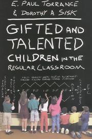 Cover of: Gifted and Talented Children in the Regular Classroom