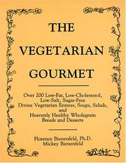 Cover of: The Vegetarian Gourmet