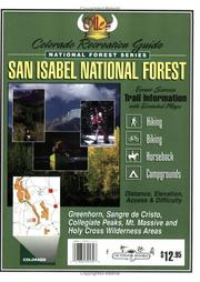 Cover of: San Isabel National Forest Recreation Guide (National Forest Series)