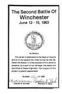 Cover of: 2nd Battle of Winchester (The Virginia Civil War battles and leaders series)