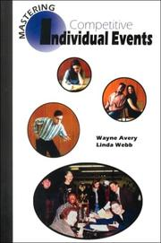 Cover of: Mastering Competitive Individual Events