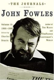 Cover of: The Journals: Volume II: 1966-1990