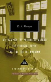 Cover of: Mr. Sampath--The Printer of Malgudi, The Financial Expert, Waiting for the Mahatma (Everyman's Library)