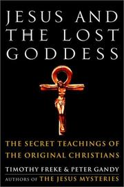 Cover of: Jesus and the Lost Goddess