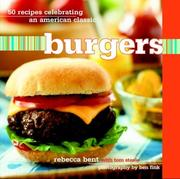 Cover of: Burgers