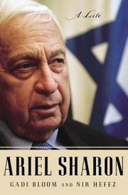Cover of: Ariel Sharon