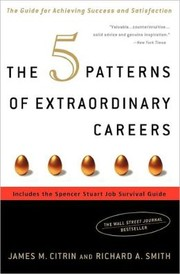 Cover of: The 5 Patterns of Extraordinary Careers