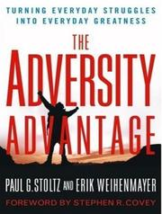 Cover of: The Adversity Advantage