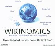 Cover of: Wikinomics