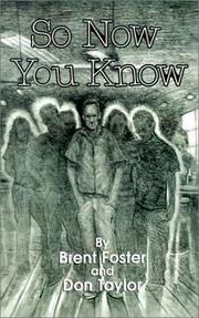 Cover of: So Now You Know