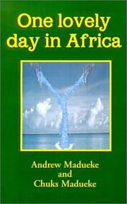 Cover of: One Lovely Day in Africa