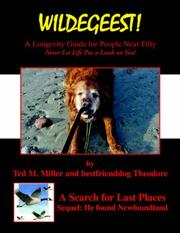 Cover of: WILDEGEEST A Search for Last Places - Sequel