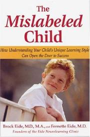 Cover of: MISLABELED CHILD, THE