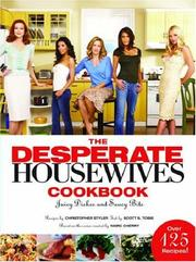 Cover of: DESPERATE HOUSEWIVES COOKBOOK, THE