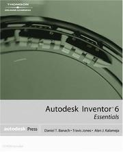 Cover of: Autodesk Inventor 6: Essentials